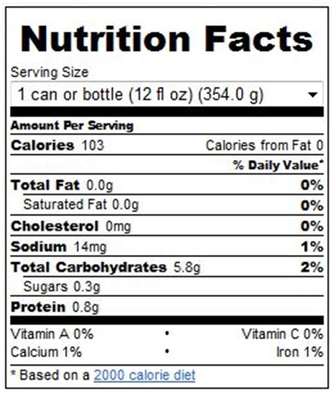how many calories in busch light michelob ultra nutrition facts nutrition ftempo