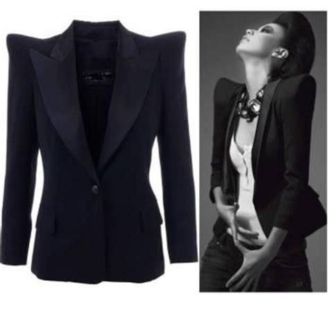 Power Blazer Vero Moda 50 best images about pointed shoulder on top