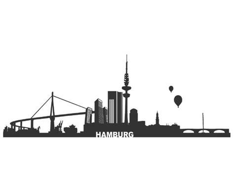 Aufkleber Hamburg by Auto Aufkleber Skyline Hamburg Aufkleber Autoaufkleber
