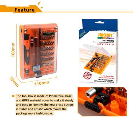 45 In 1 Interchangeable Magnetic Precision Screwdriver Jm 8129 jakemy jm 8130 45in1 screwdriver set