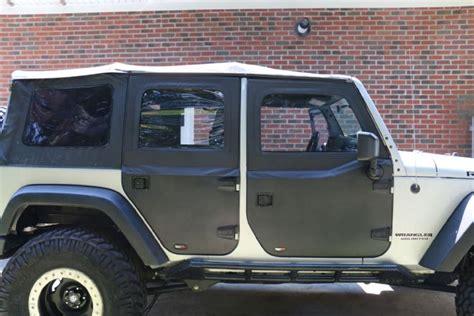 jeep wrangler unlimited half doors 010 jeep wrangler unlimited rugged ridge half doors
