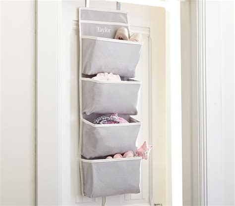 behind bathroom door storage harper over door storage pottery barn kids