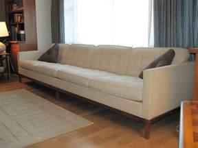 10 foot vintage knoll sofa mid century modern