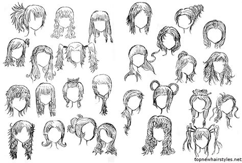 cool hairstyles drawing cute anime hairstyles for short hair hair