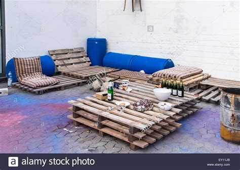 outdoor furniture made from recycled materials braunschweig brunswick germany outdoor furniture made from stock photo royalty free image