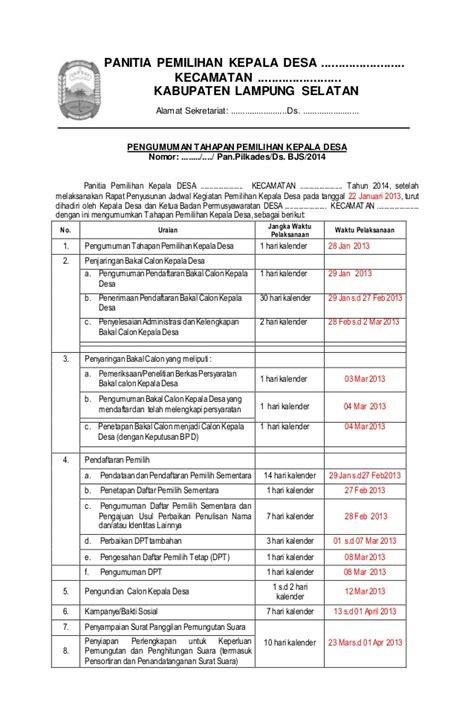 contoh dokumen pilkades service laptop
