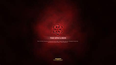 Sith Code Wallpaper