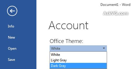 color themes office 2013 how to get rid of too much white space in microsoft office