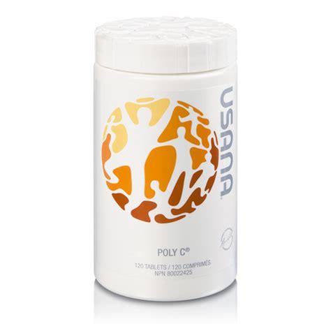 usana poly  supplement de vitamine  ascorbates de