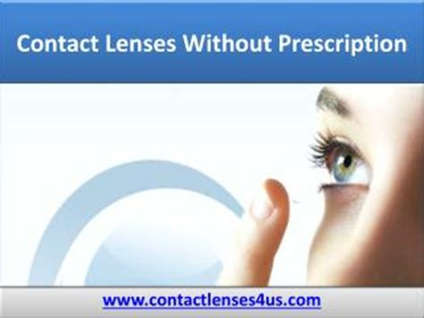 ppt buy contact without prescription contactlenses4us