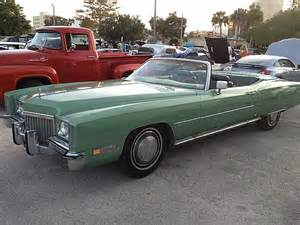 1972 Cadillac Eldorado Convertible For Sale 1972 Cadillac Eldorado Convertible For Sale Sanford Florida