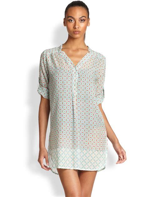Sleeve Kurta Leather roberta roller rabbit geometric dot cotton silk kurta