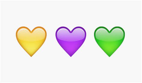 what do different color hearts what the different emoji hearts of instagram wired