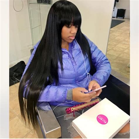 sew in with chinese bang hairstyles weaves with chinese bangs www pixshark com images