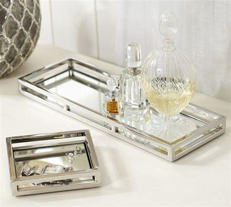 mirrored bathroom tray dresser tray for perfumes bestdressers 2017