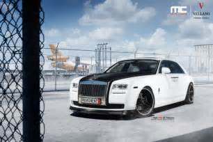 Rolls Royce 2014 Ghost Black And White Rolls Royce Ghost By Mc Customs Gtspirit