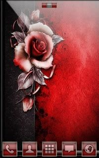 rose themes java download red rose for android theme htc theme mobile toones