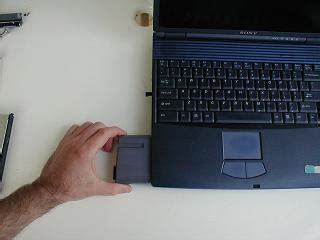 replacing a sony vaio laptop hard drive  illustrated how