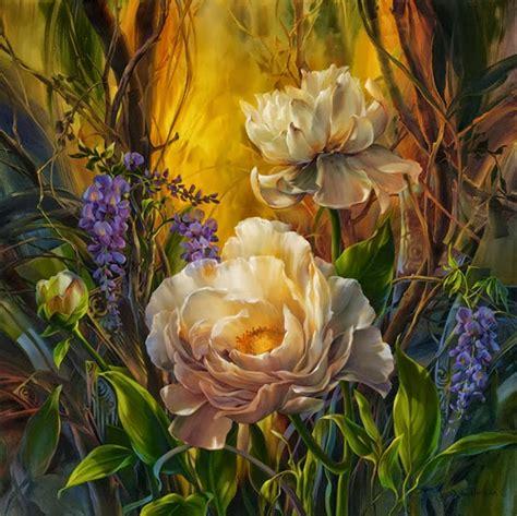 wallpaper lukisan bagus 29 gambar lukisan bunga seni rupa