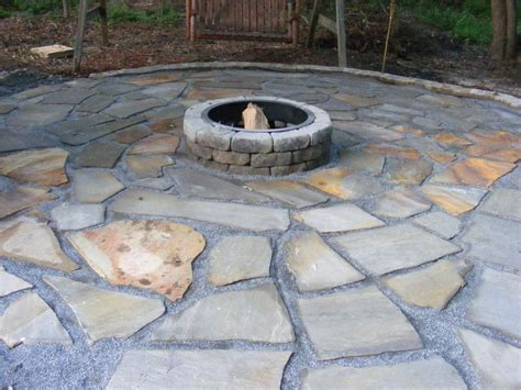 build pit patio make a flagstone patio hometalk