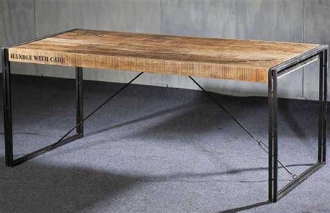 table de salon industriel chaios