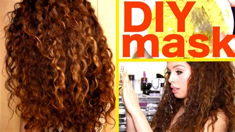 diy hairstyles for thick curly hair diy hair mask for curly hair youtube