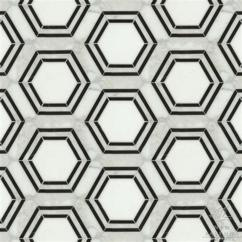 black and white hexagon bathroom floor tile hexagon tiles mosaic black white new ravenna mosaics