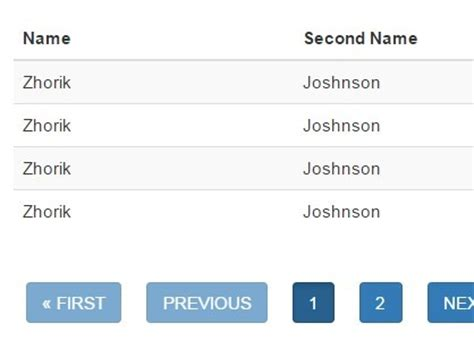 jquery plugin for converting json data to a table