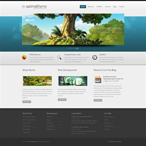 Striking 3d Html Template 3d Templates Website Templates Templatesold Com Custom Html Website Templates