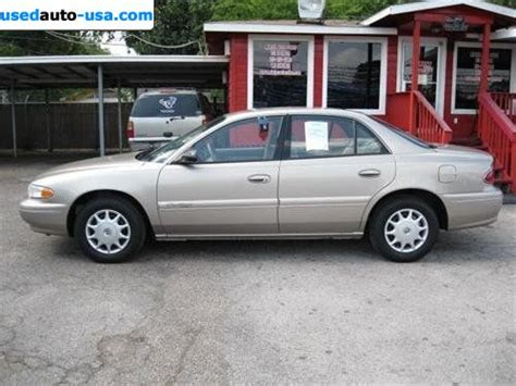 car owners manuals for sale 2001 buick century engine control for sale 2001 passenger car buick century custom south houston insurance rate quote price 8488