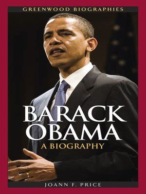 biography of barack obama pdf barack obama by joann f price 183 overdrive rakuten