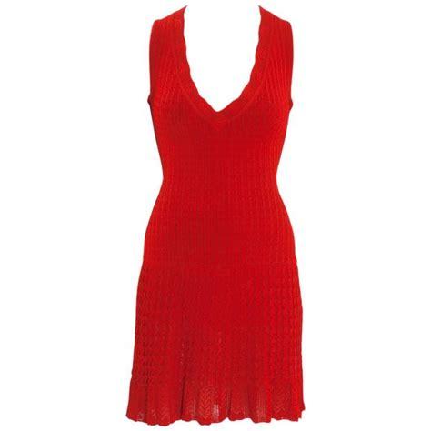 summer knit dresses ala 239 a crochet knit dress summer 1992 for sale at