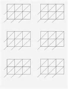 lattice multiplication worksheet lattice