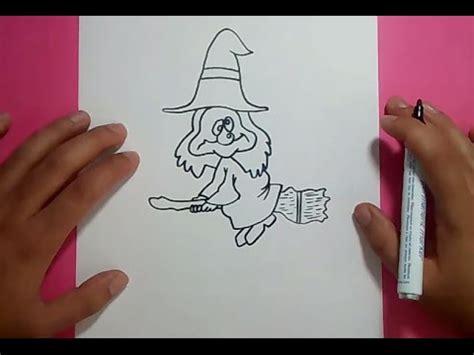 imagenes de brujas faciles para dibujar como dibujar una bruja paso a paso 5 how to draw a witch