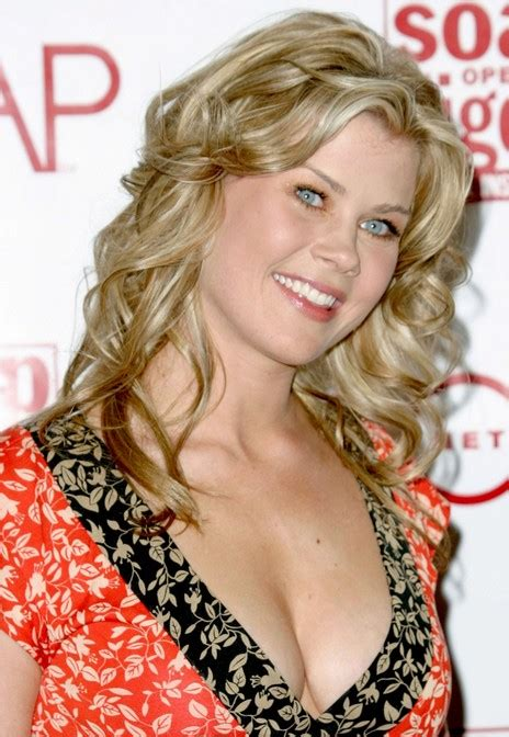 long curly wheat blonde summer party  alison sweeney