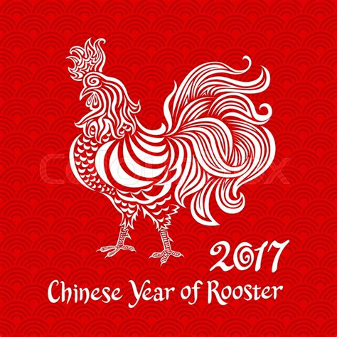 Chinese New Year Of The Rooster 2017 All The Memes You - vector white rooster on red chinese background chinese