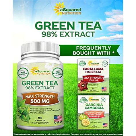 Green Tea Extract Detox by Buy Green Tea Extract Supplement With Egcg 180 Capsules