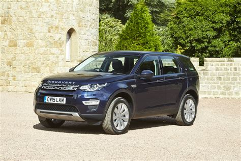 blue land rover discovery 2016 land rover discovery sport review