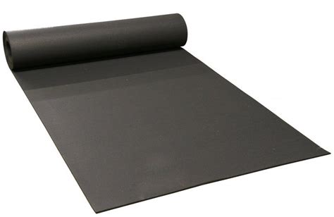 Rolled Rubber Mats by 4 Wide X 1 4 Thick Black Rubber Rolls For Light
