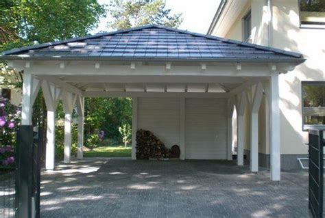 hm carport wooden carport two cars driveway car parking ideas home