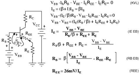 bjt transistor gain formula 도너츠 작업실 트랜지스터 bjt 의 바이어스 2