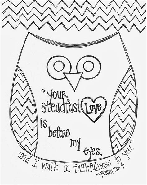 bible story coloring pages with verses free valentine s day bible verse owl coloring page