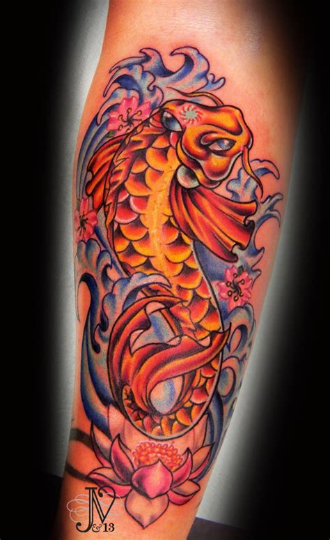 koi fish with lotus flower tattoo designs girly koi fish tattoos sat amazingly foi fish with