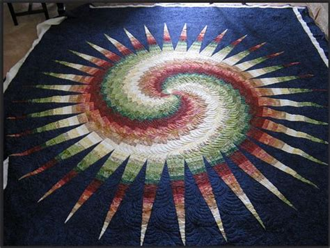 Bargello Patchwork - this quilt called spiky bargello quilted by libby is