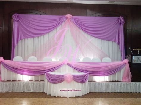 joyce wedding services pink and purple wedding decoration