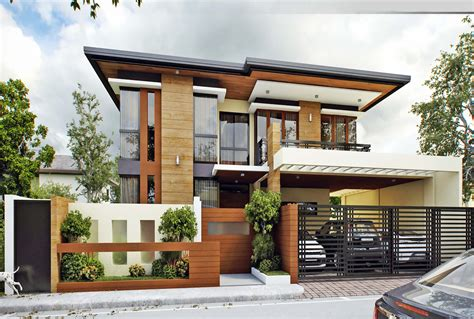 modern two storey house designs philippines asian modern house design tazo company modern asian 2 storey house and lot filinvest