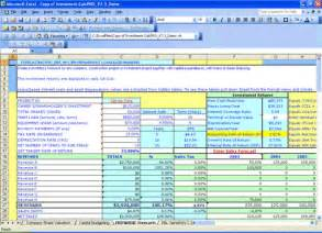 npv excel template excel templates for net present value and irr screenshot