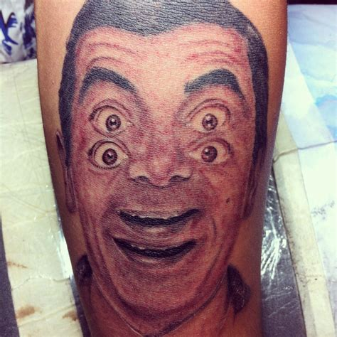 hypnotic tattoo mr bean hypnotic mewo inkshop studio
