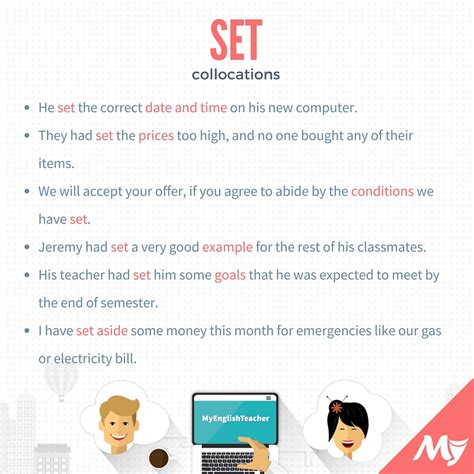 define collocate collocations with set myenglishteacher eu forum