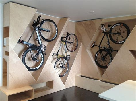 creative bike storage bike storage ideas 30 creative ways of storing bike inside your home